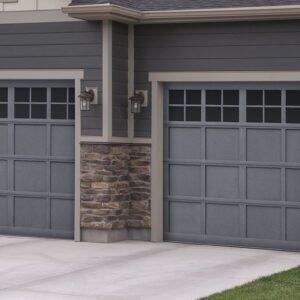 gray garage doors