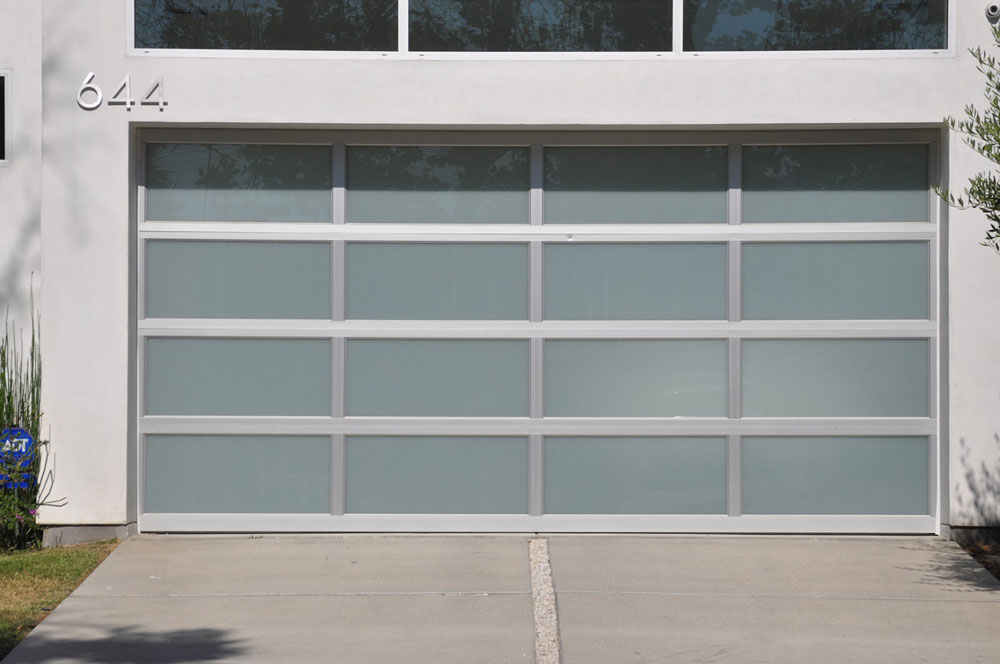 garage door with panels
