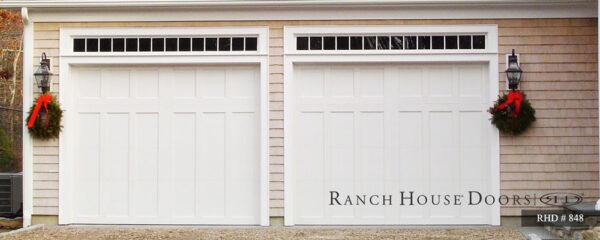 Rach house doors two garage door design