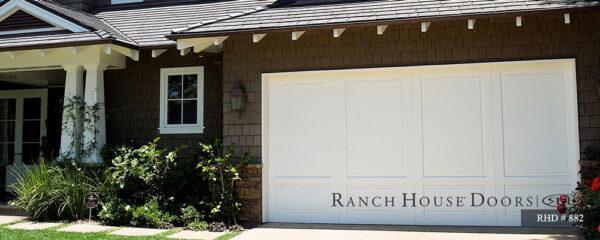 Ranch house doors residential garage doors
