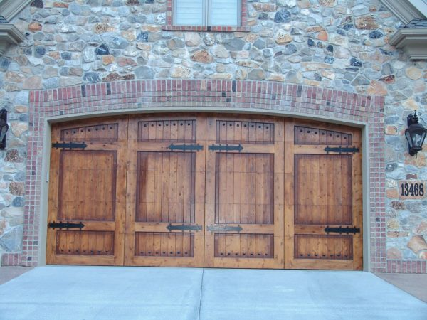 stone house carriage house door