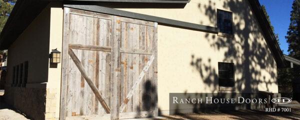 ranch house doors RHD #7001