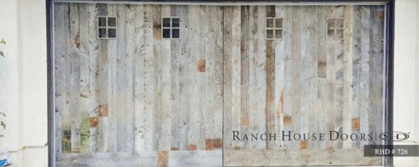 vintage door - ranch house doors