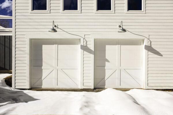 white exterior