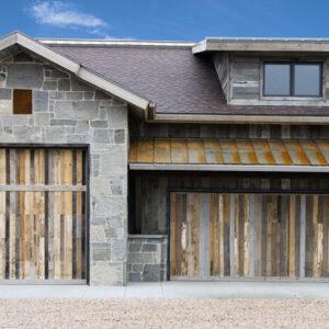 textured exterior
