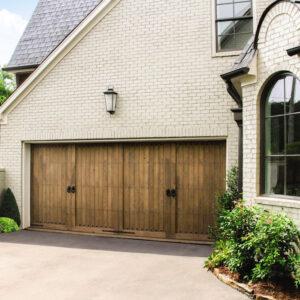 textured wood exterior