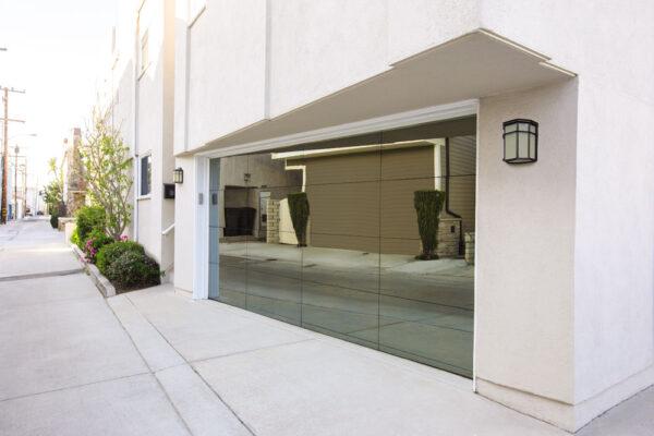 gray mirror exterior