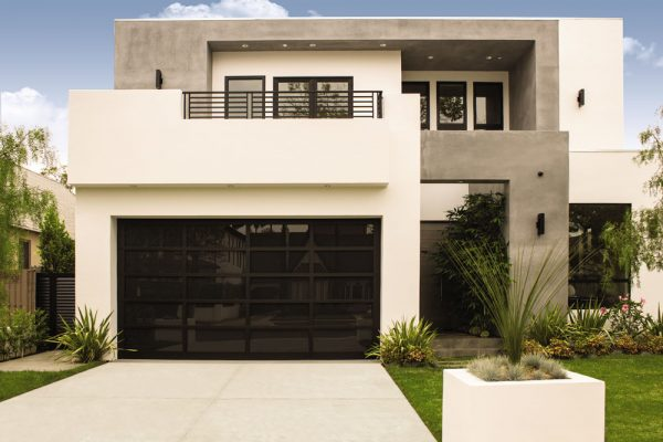 bronze cut glass exterior