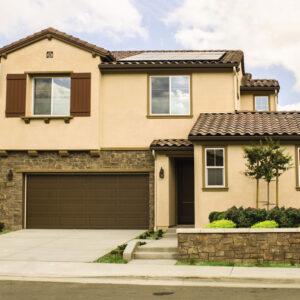 ranch brown exterior