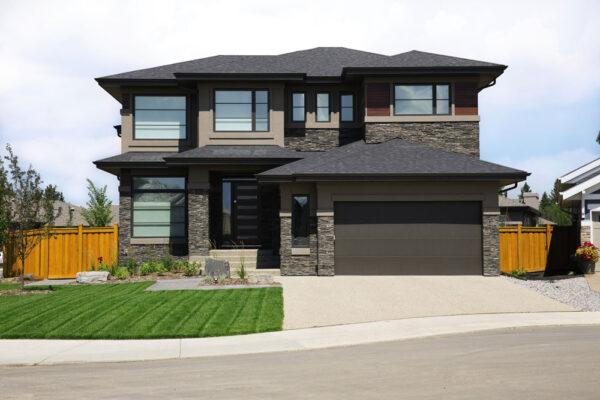cust contemporary exterior style