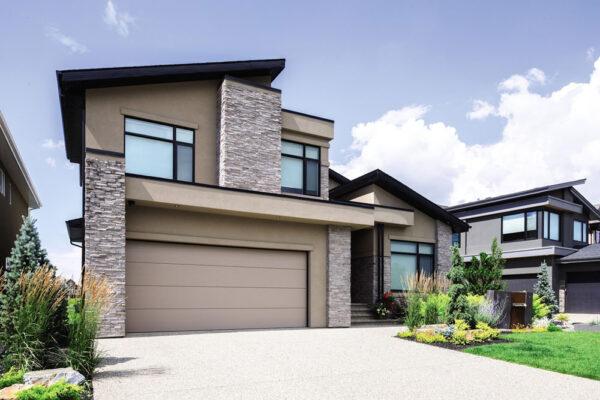 contemporary cust exterior style