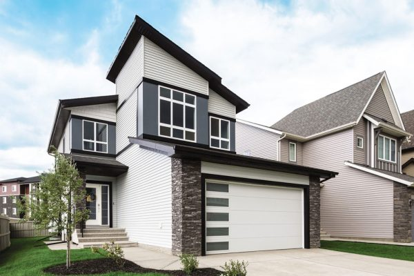 vertical cust contemporary exterior style