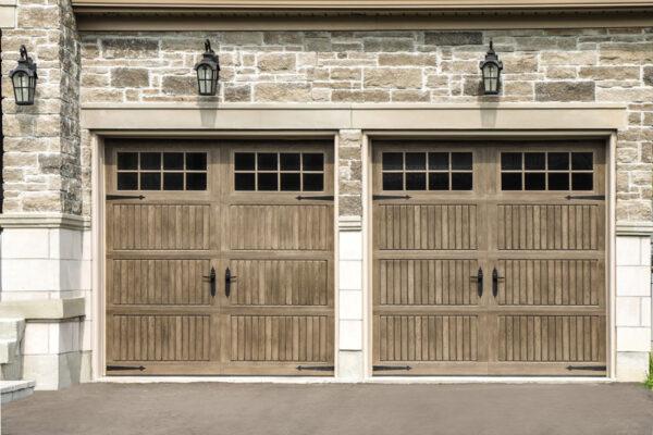 2 clay garage door