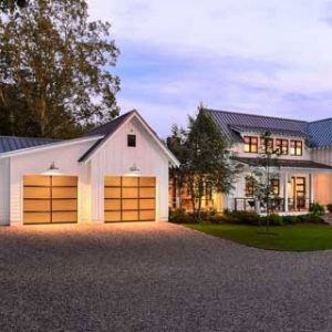 home with separate garage space