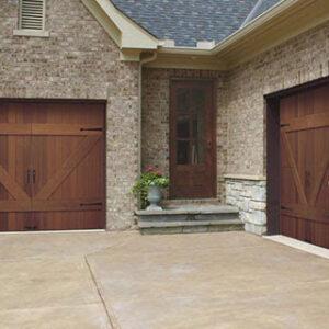 Large barn style doors