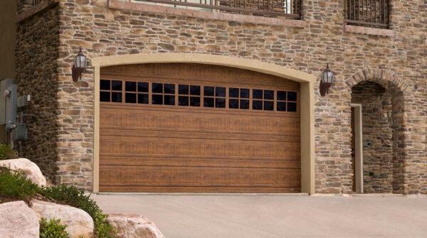 Cornerstone garage doors design