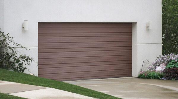 Simple cornerstone garage doors