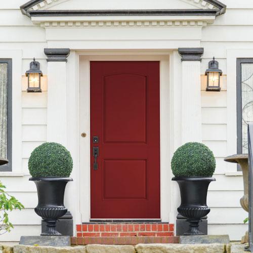 white house front door