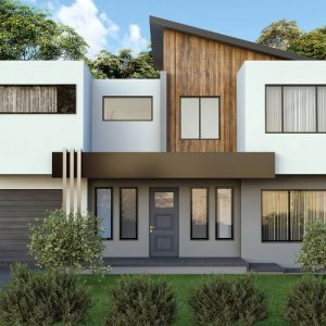 modern home with nordic nior color scheme