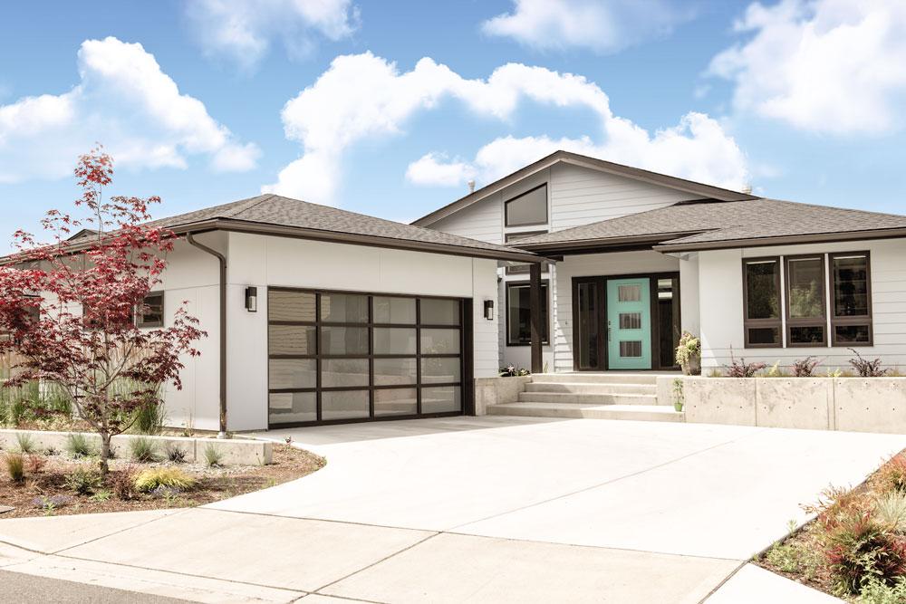 modern aesthetic exterior