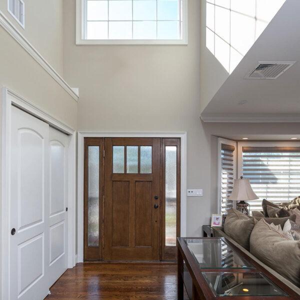 front door home interior