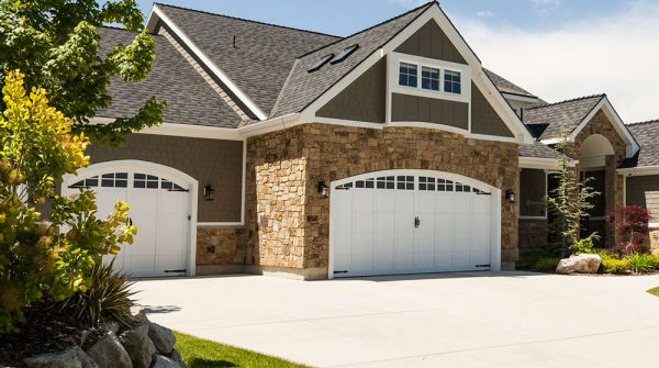 arched carriage house garage doors
