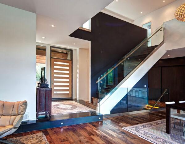 contemporary door design of modern home