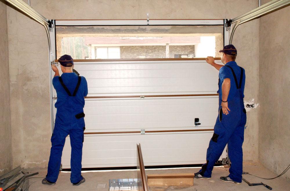 Contractors Installing, Repair, Insulating Garage Door