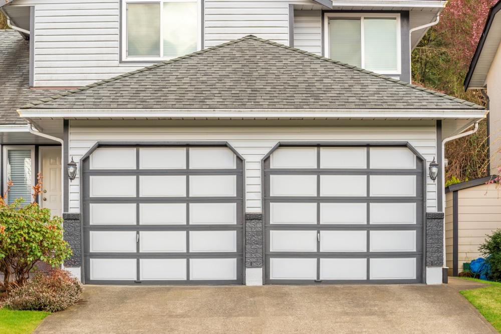 value new garage door insulation